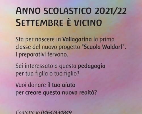E´ nata la scuola Waldorf!