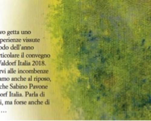 Estate 2018 - Notiziario della Federazione delle Scuole Steiner Waldorf in Italia